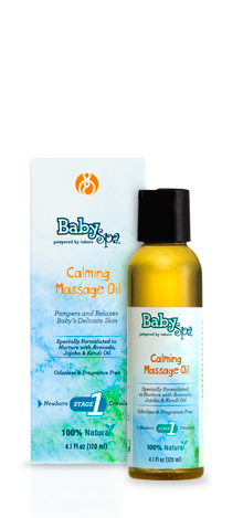 BabySpa - Calming Massage Oil 120ml